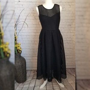 Ko Ko Ailis Black Net Dress
